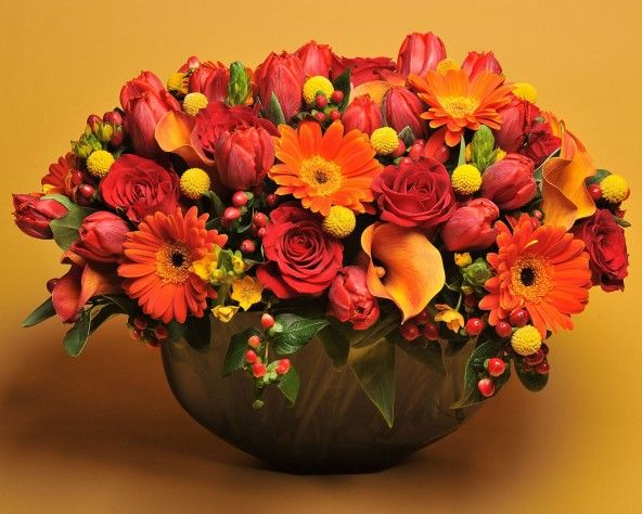 Thanksgiving Floral Arrangements   Top 5 Thanksgiving Day Flower  Arrangements with Scottu0027s Flowers
