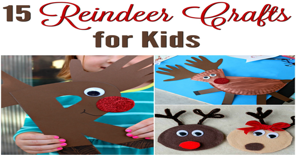 Are you looking for a fun and simple reindeer craft to make this holiday season? Check out these 15 Easy Reindeer Crafts For Kids that are perfect for all ages.