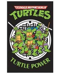 1987 Tv Series. Teenage Mutant Ninja Turtles.