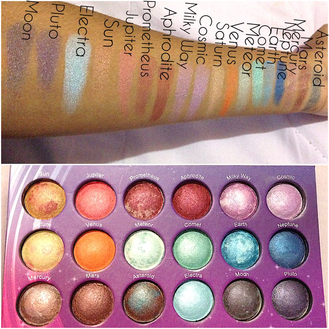 Galaxy Chic Baked Eyeshadow Palette by BH Cosmetics #17