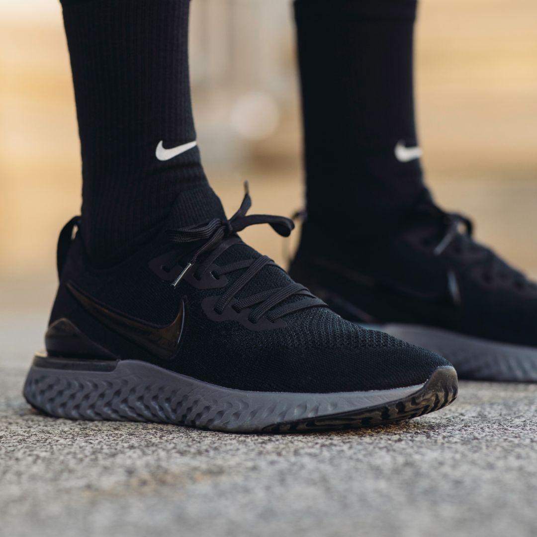 nike men's epic react flyknit 2 running shoes