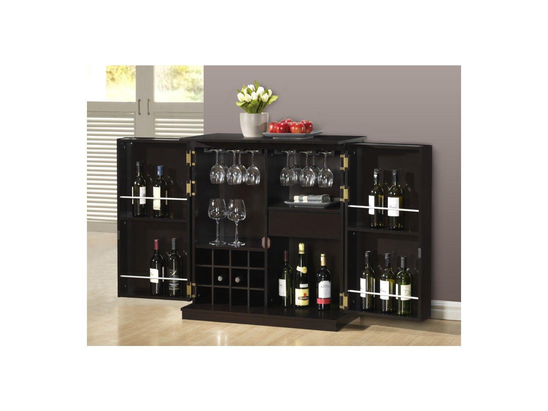 Hausbar Holz massiv Gordon - Wenge   Simple Home - Lounge ...