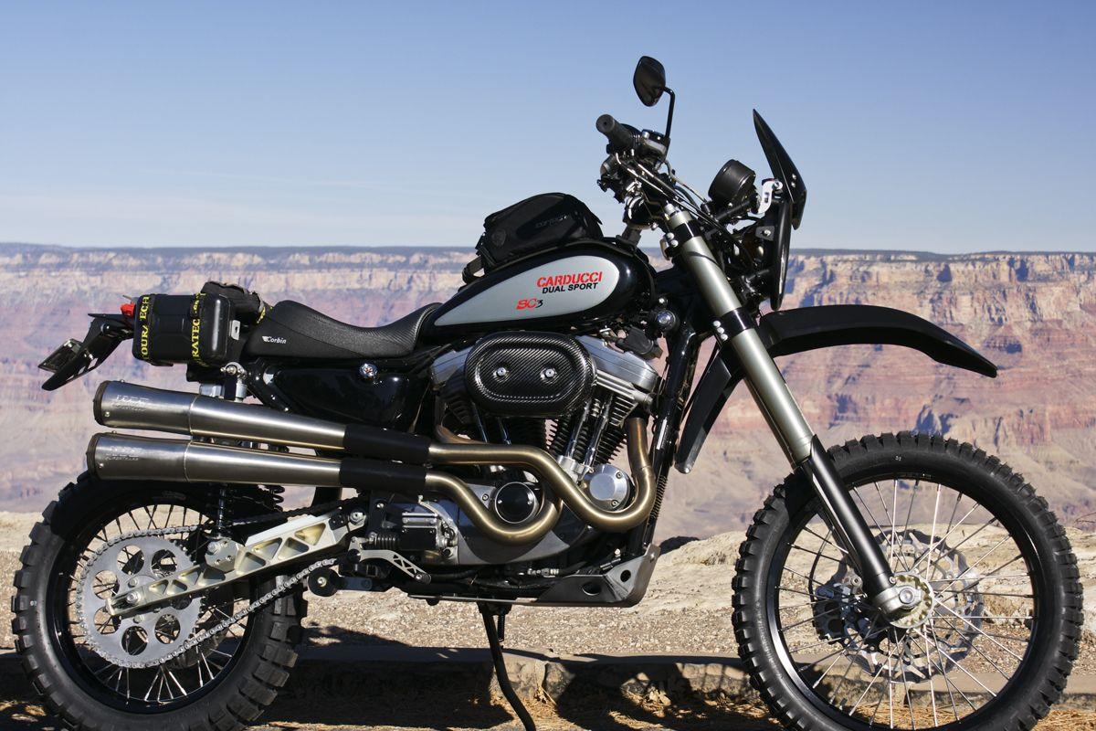 SC3 Dual Sport at the Grand Canyon, AZ, USA | Moto bikes | Dual