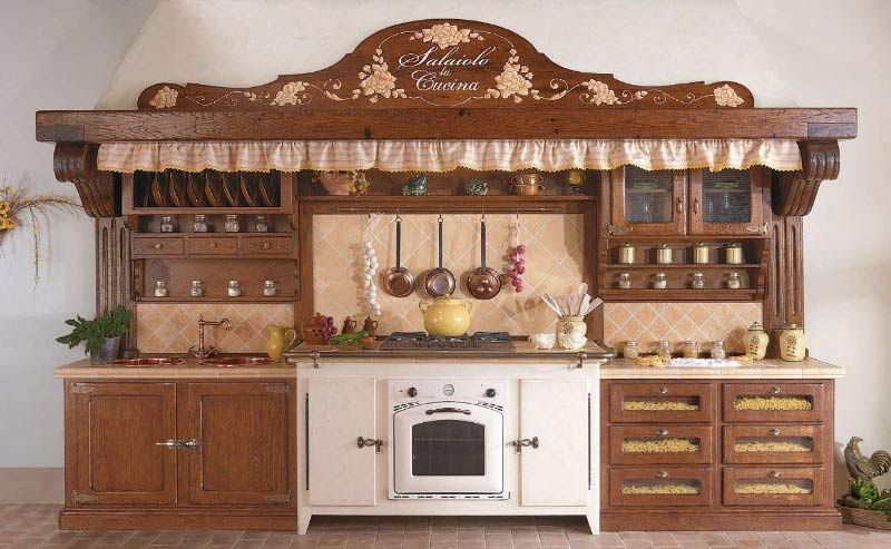 Come arredare una cucina rustica | Kitchen nel 2019 | Home Decor ...
