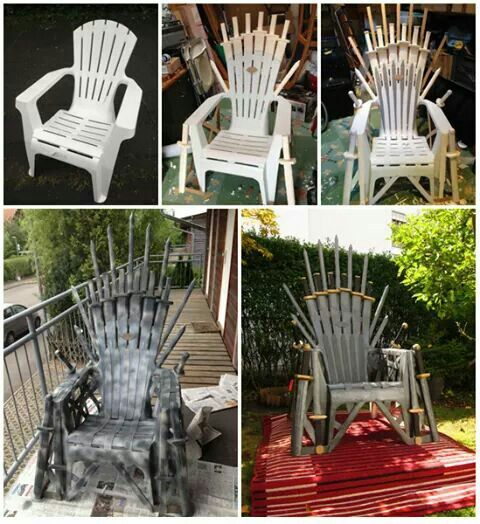 iron throne chair backboard western style leather chairs for your home yes it s necessary got baby shower