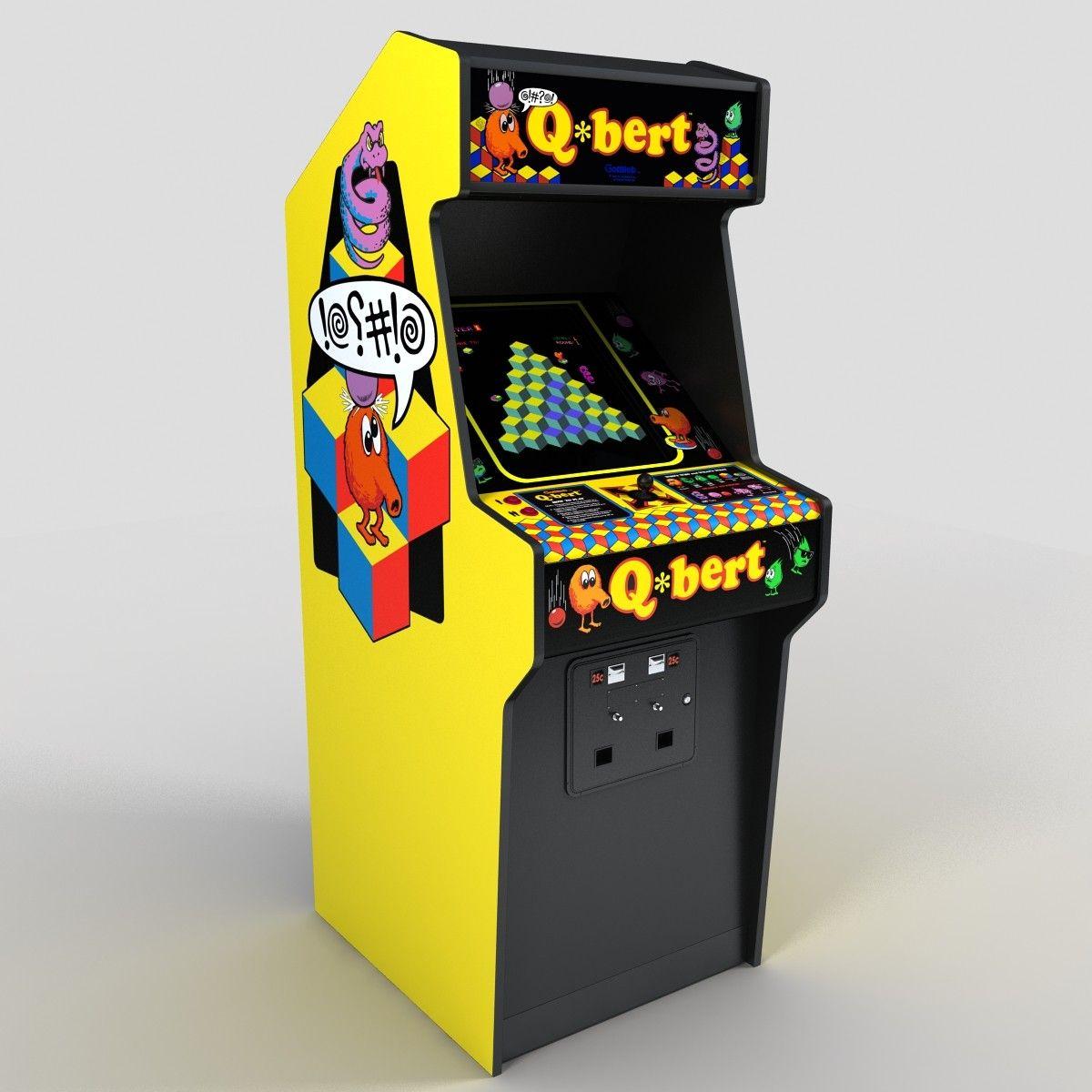 qbert arcade 3d model | trabj | Pinterest | 3d and Models