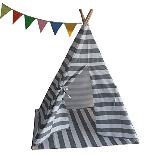 new product 9c8a1 13f84 Small boy Kids Canvas Teepee Play Tent Indian Playhouse S ...