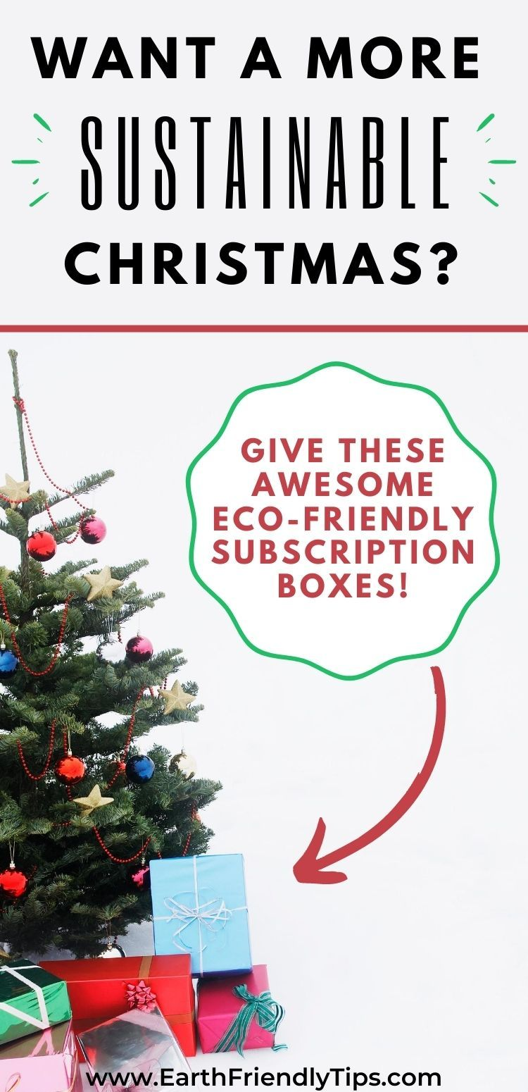 Best Christmas Subscription Boxes 2020 The Best Eco Friendly Subscription Boxes for 2020   Earth Friendly