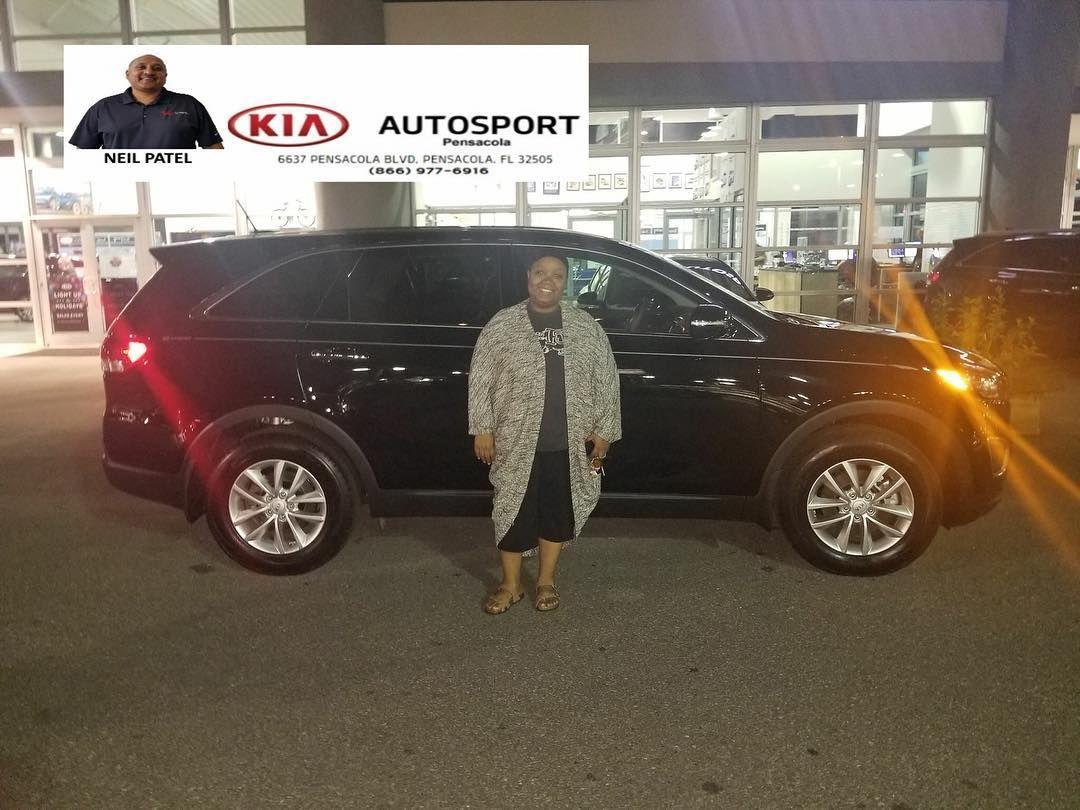 Neil Patel And KIA AutoSport Of Pensacola Would Like To Thank Ms. Tonya  Thomas For