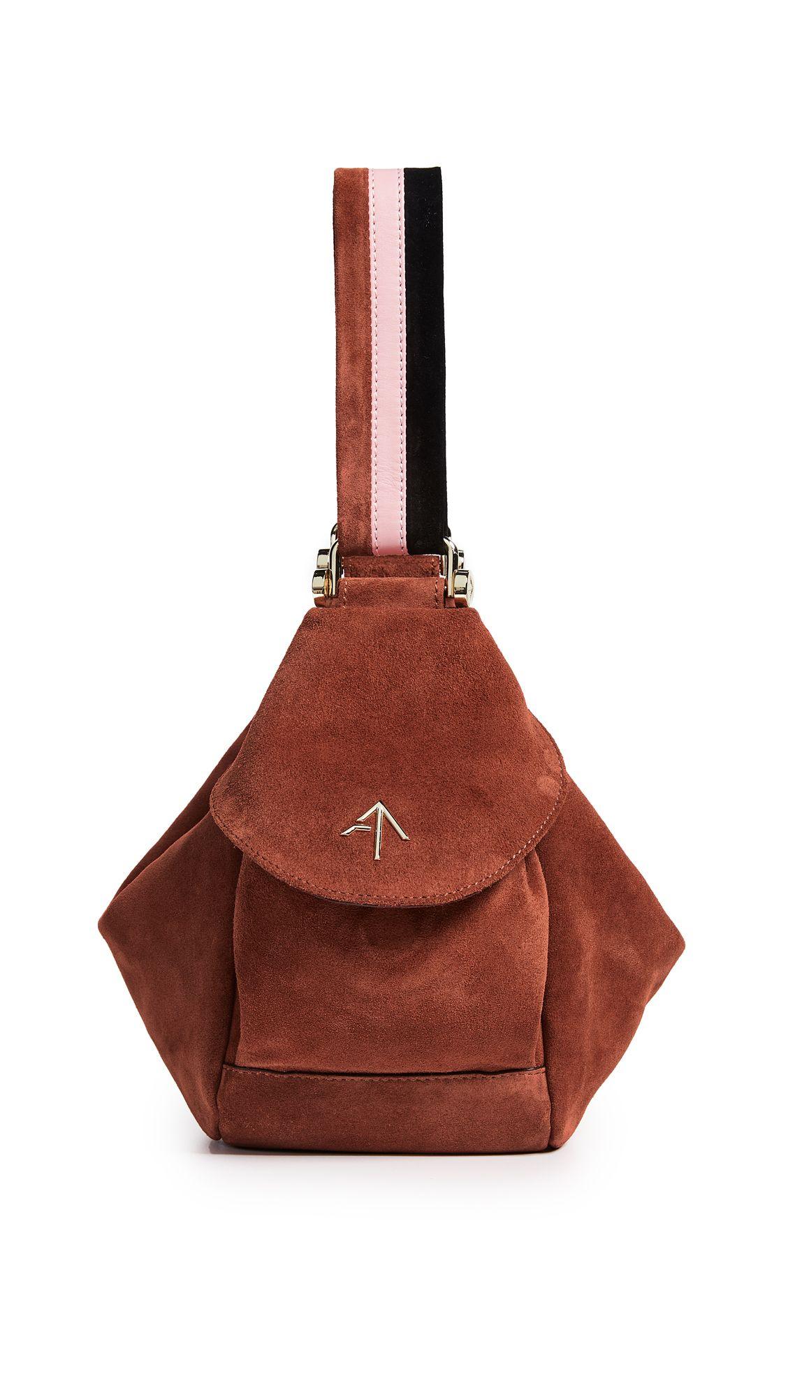 f95fcb35b1 MANU ATELIER SUEDE MICRO FERNWEH CONVERTIBLE BAG.  manuatelier  bags  shoulder  bags  hand bags  suede