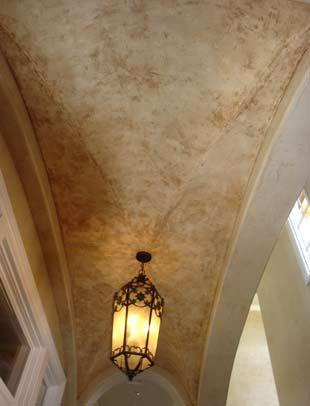 Faux Paint Ceiling Painted Ceiling Bedroom False Ceiling Design