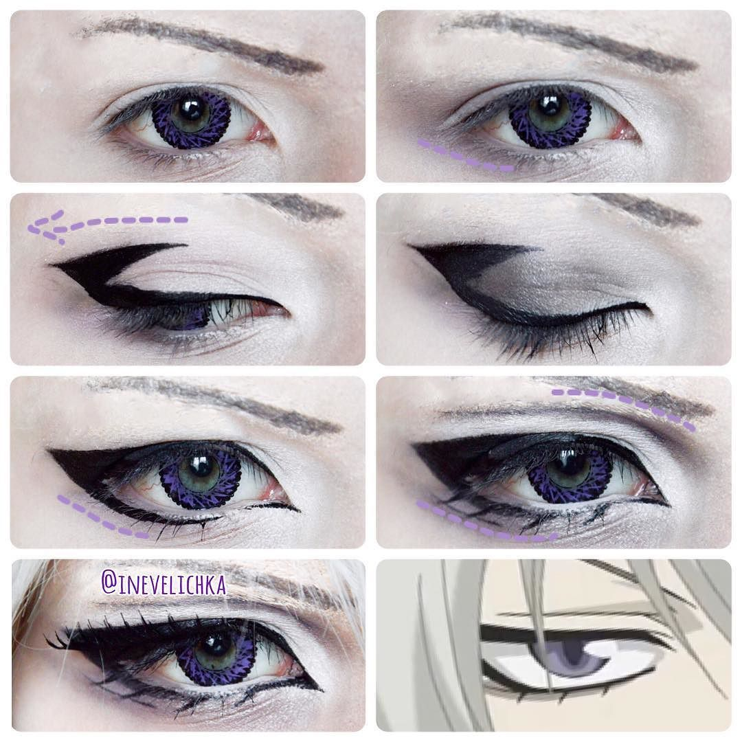 how to get anime eyes naturally