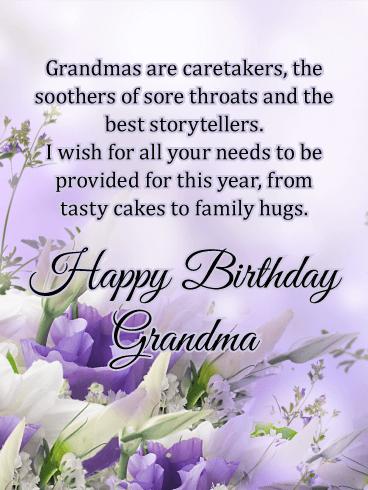 Grandmas Are Caretakers
