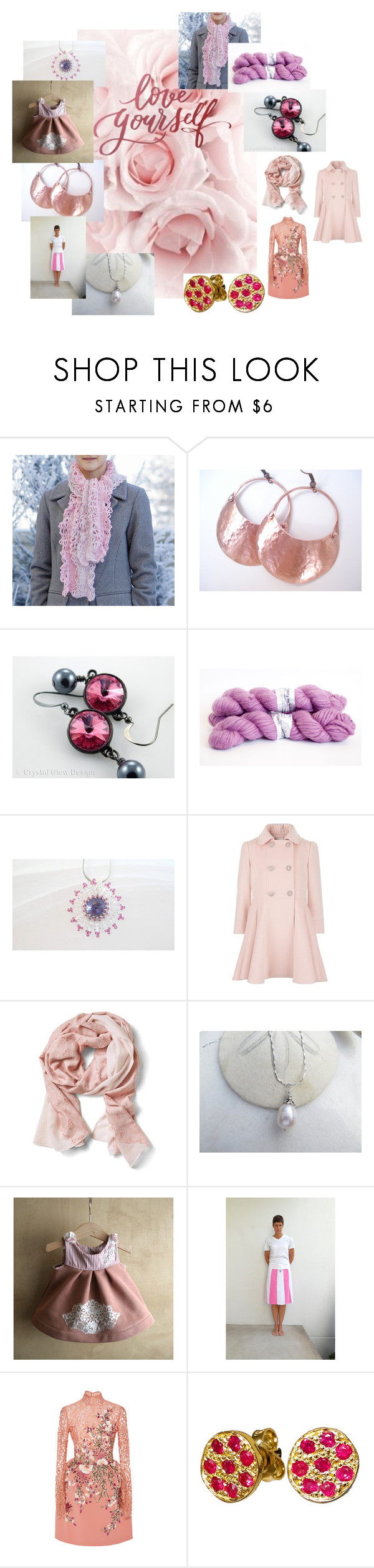 """""""Love Yourself"""" by valeriebaberdesigns ❤ liked on Polyvore featuring Banana Republic, Georges Hobeika and Giallo"""