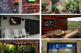 Waterproof Outdoor Tv Cabinet | YoshiHome