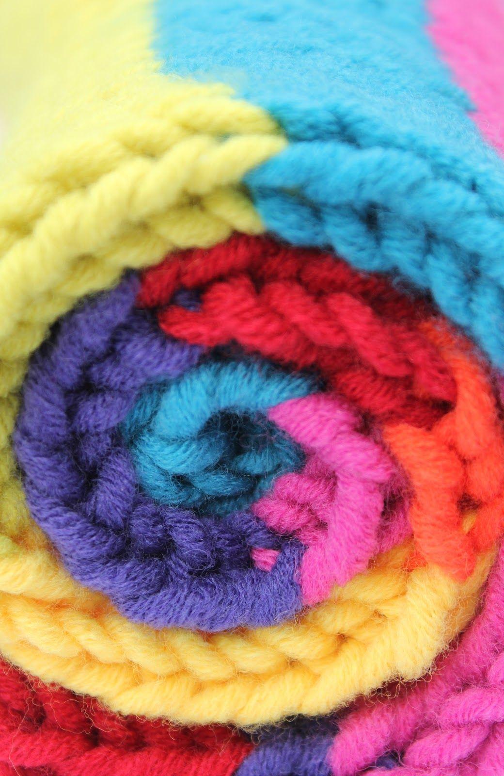 draad en papier: Kol sjaal breien