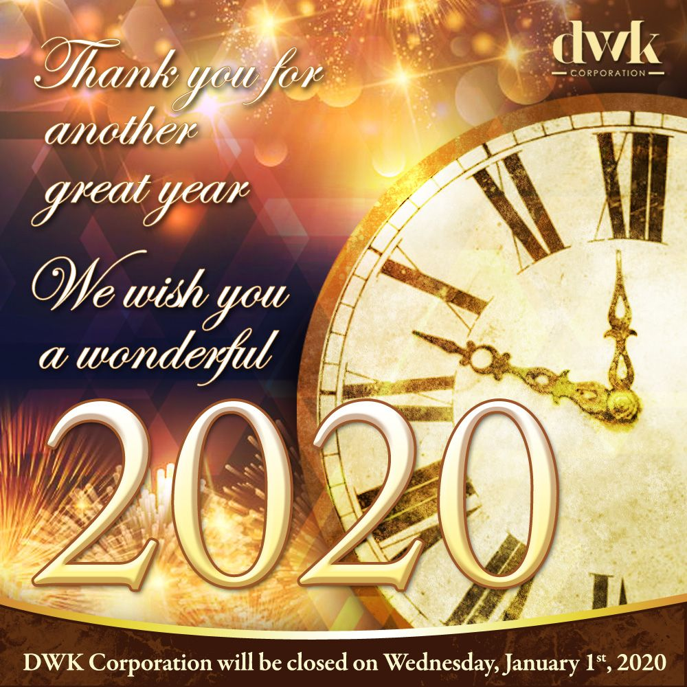 Thank you for another great year! We wish you all a