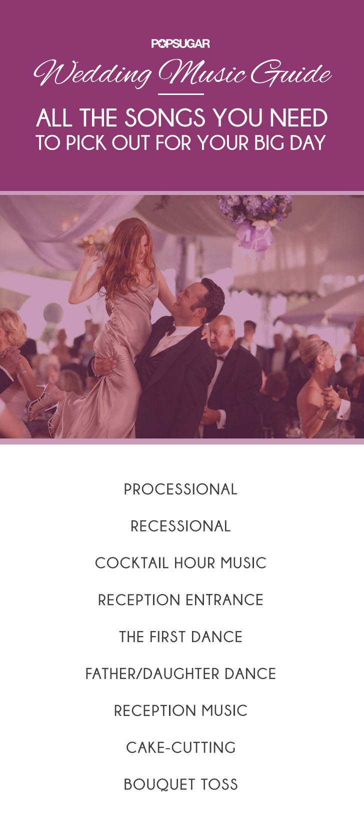 A Guide To Picking Out The Songs For Your Wedding Wedding Music