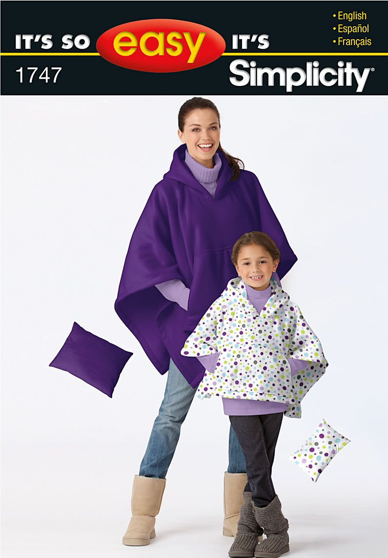 Simplicity Creative Group - Its' So Easy Ponchos | capes, ponchos ...
