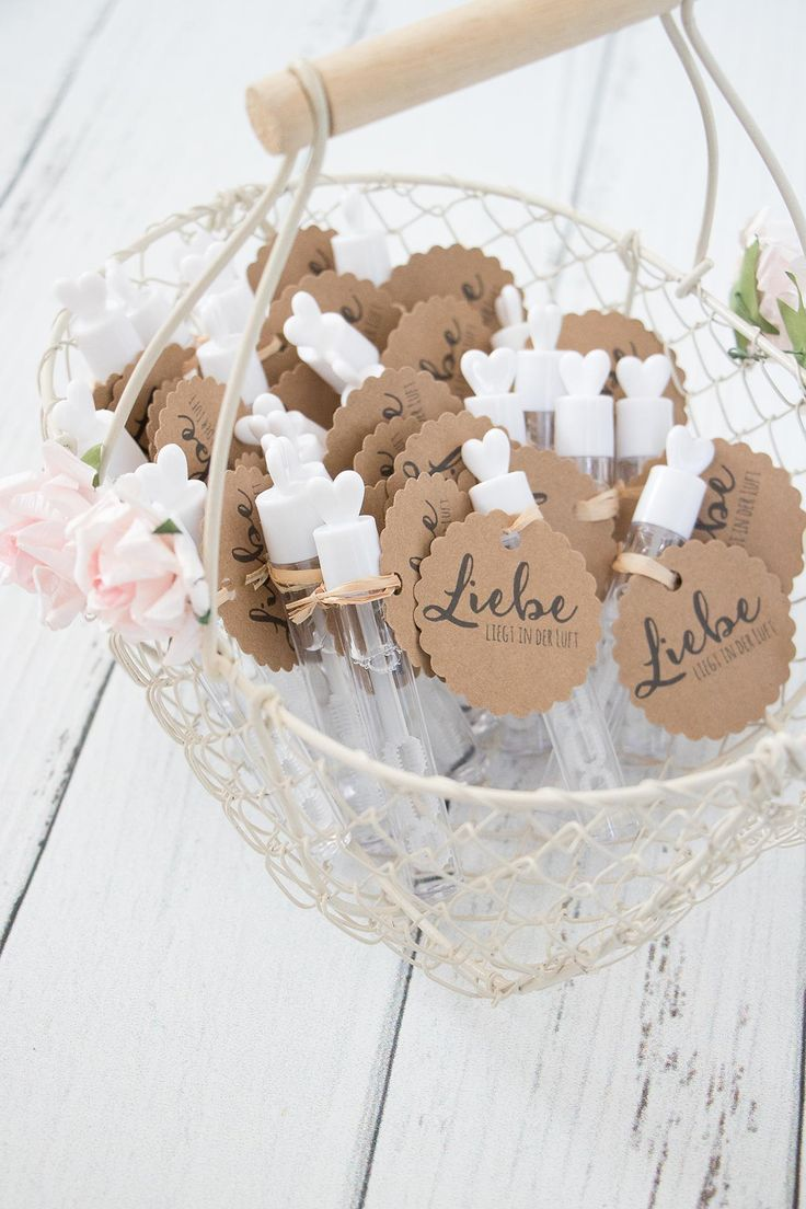 Anhnger fr Wedding Bubbles  Seifenblasen zur Hochzeit