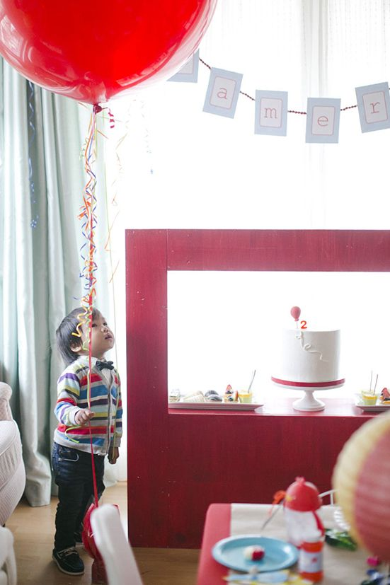 Autumn Reeser Theme: Colorful 2nd Birthday Party By Caroline Tran