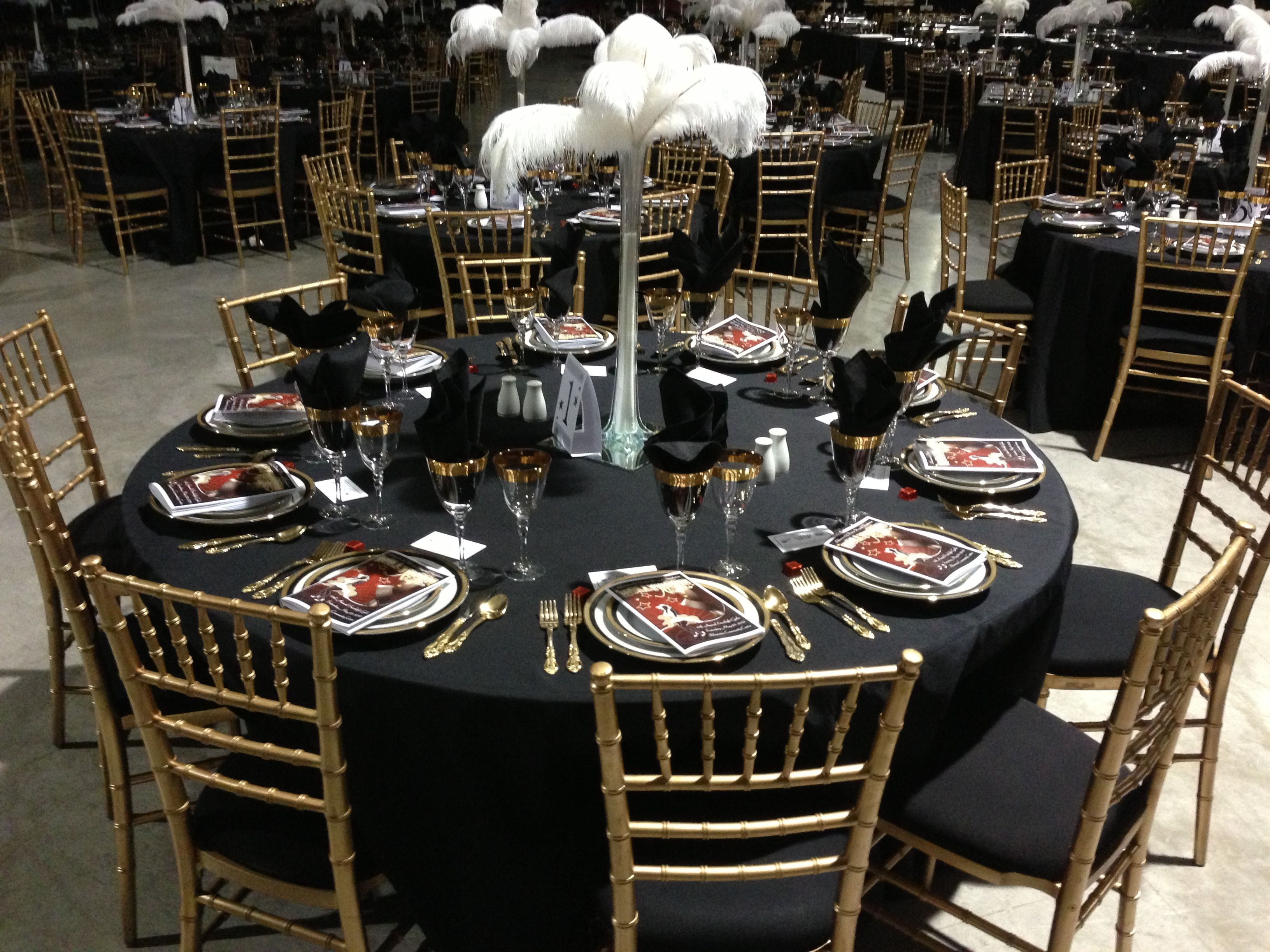 chiavari chairs china bedroom chair sofa gold with black seat regal flatware