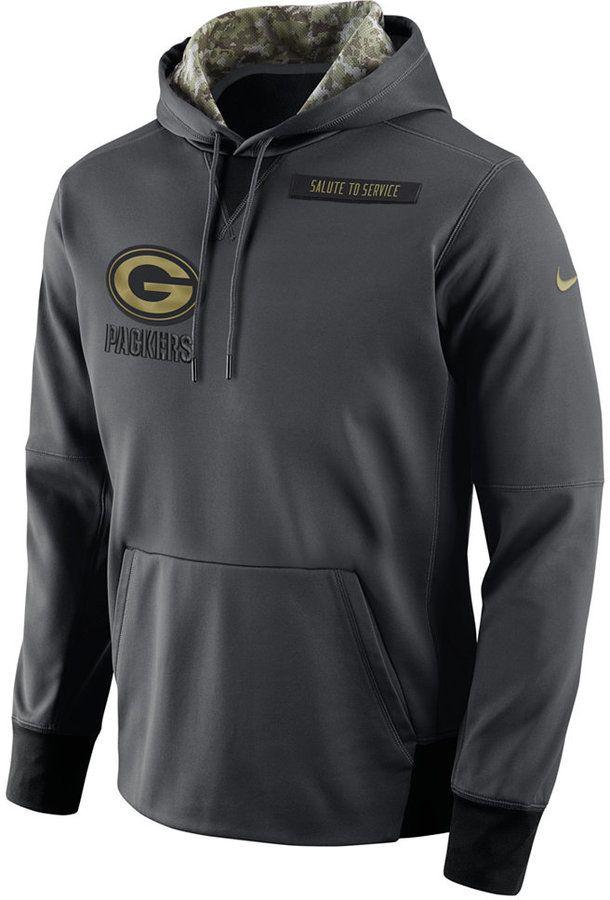 7b2674e8c Nike Men s Men s Green Bay Packers Salute to Service Hoodie