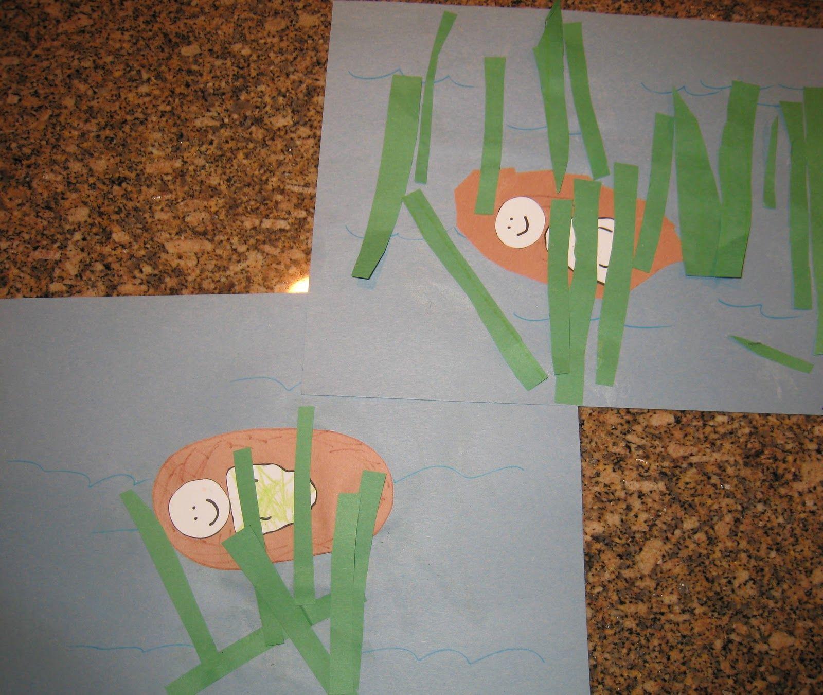 Baby Moses Craft For Kindergarten