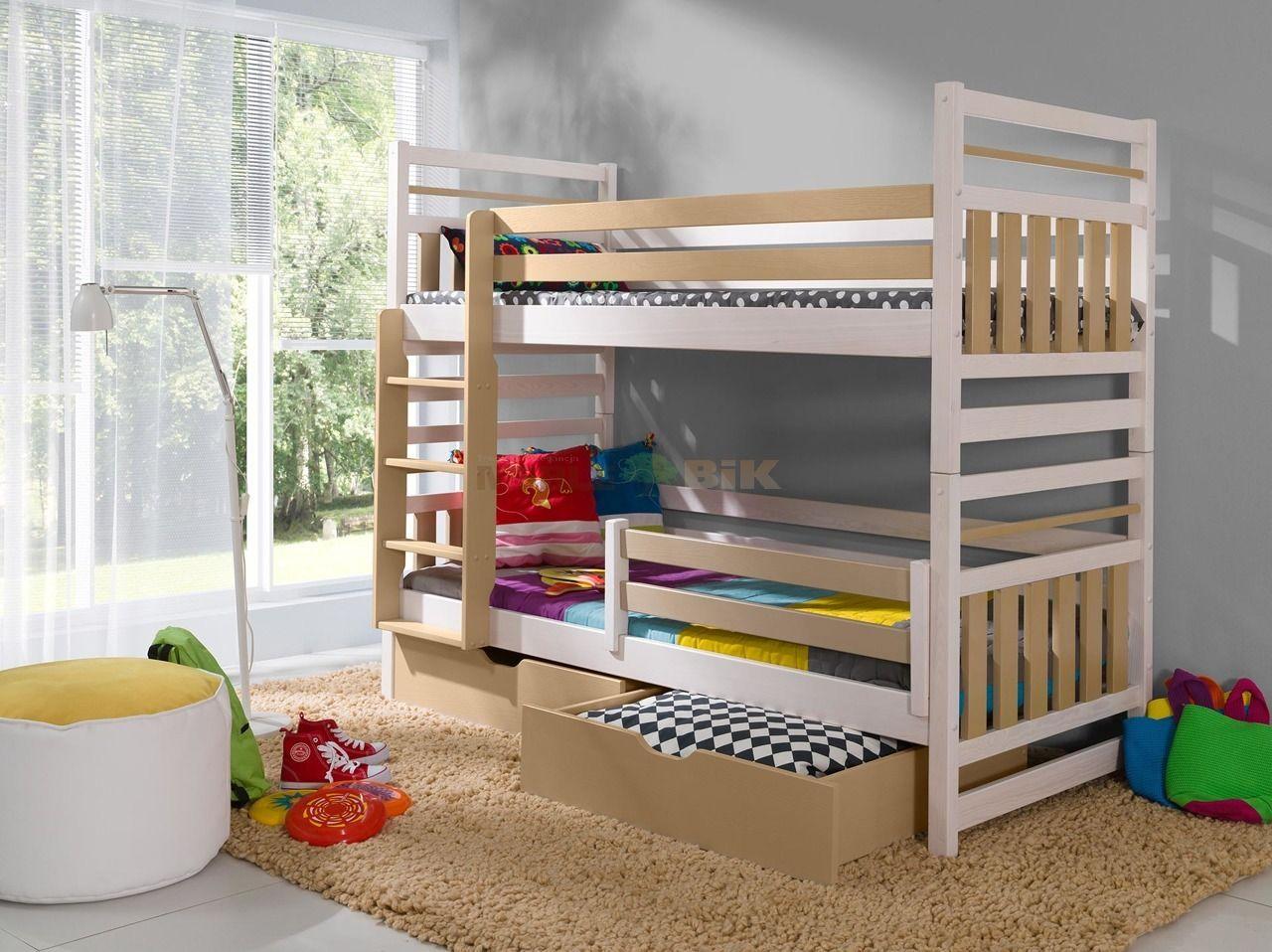 łóżko Piętrowe Do Pokoju Młodzieżowego Miromir 2 Osobowe