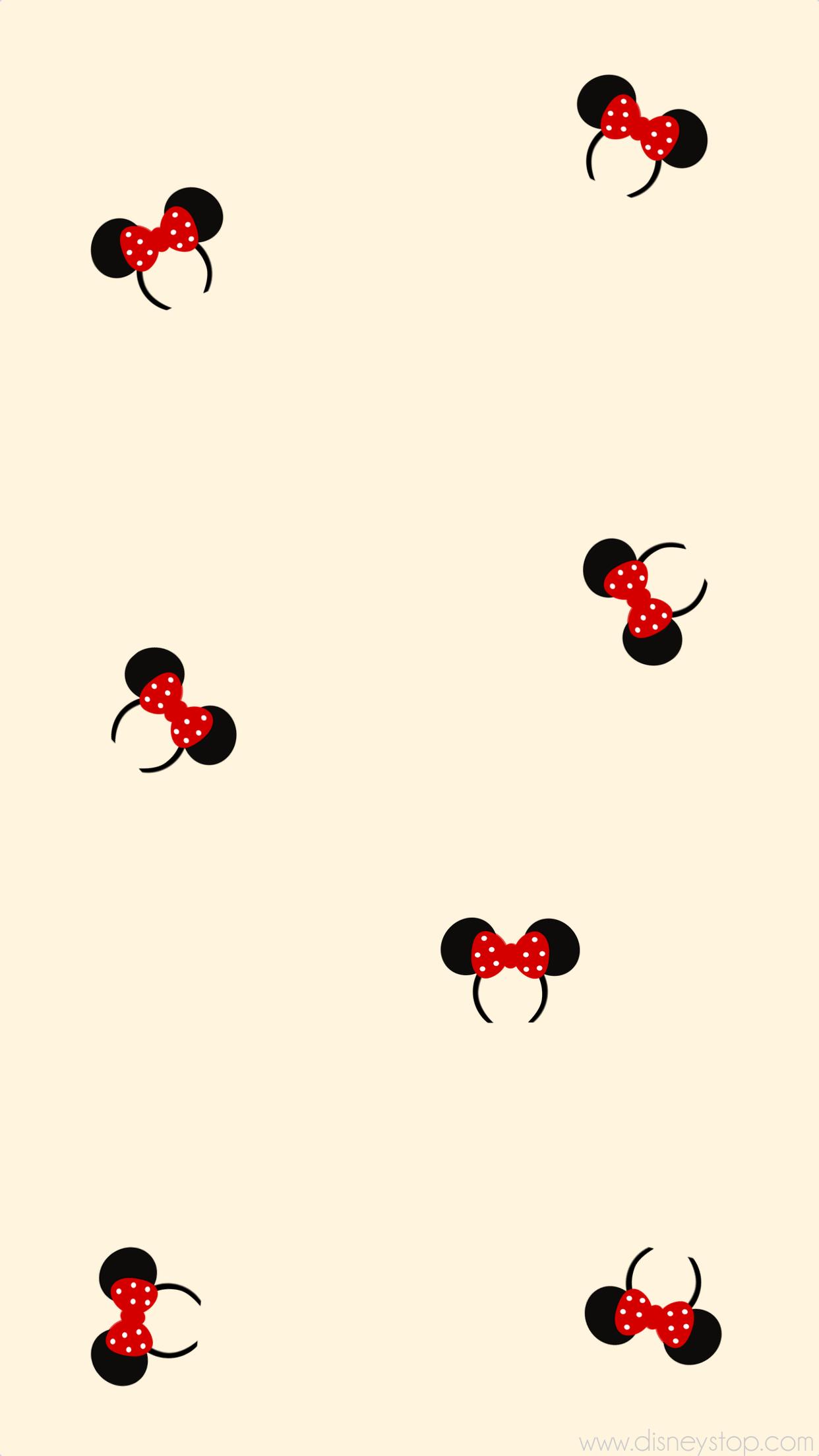 Minnie Mouse Headband – Smartphone Wallpaper