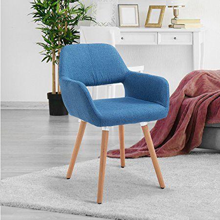 HOMCOM AUCKLAND Chaise avec 79 Scandinave euros Design eWrCBodx