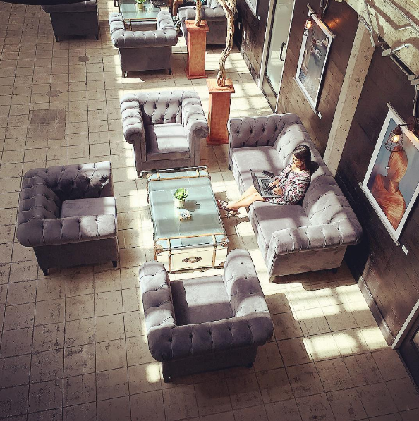 Office Lobby With Chesterfield Sofas. Find More Chesterfield Sofas And  Sectionals This At The Sofa