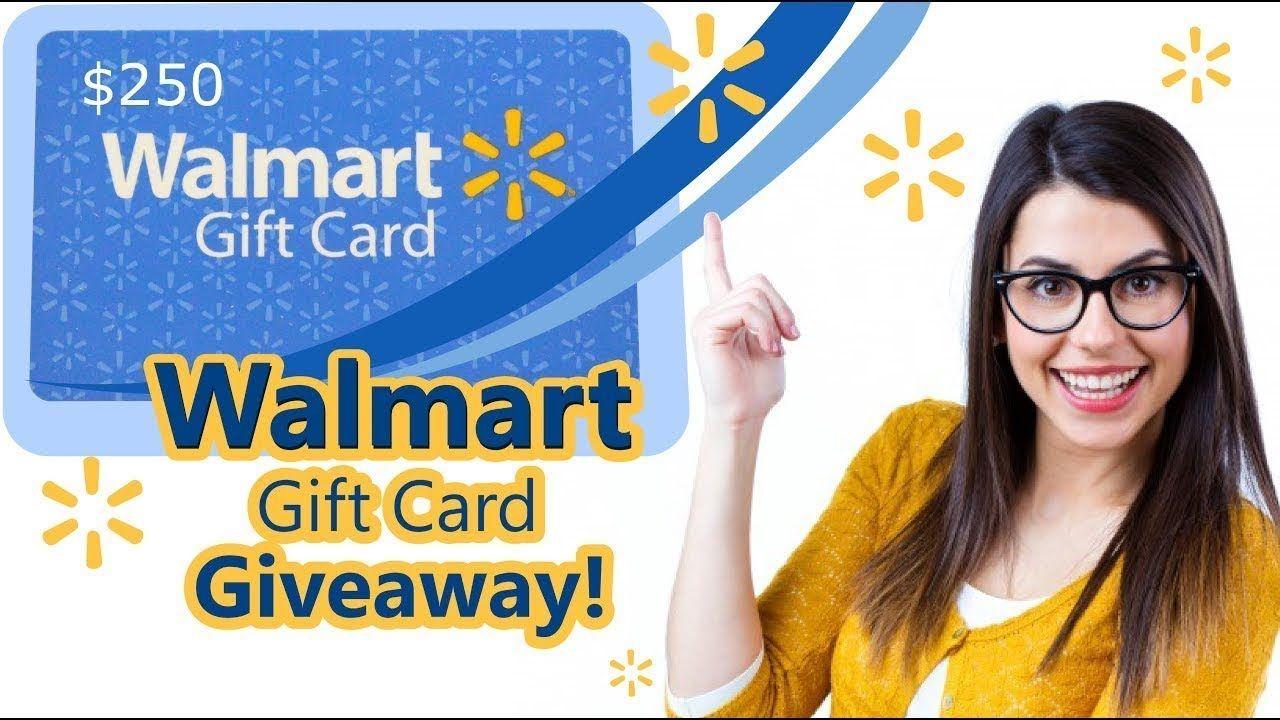 Free walmart gift card walmart gift card 2018 new