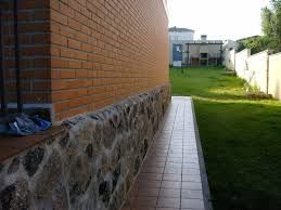 Resultado De Imagen De Fachada Ladrillo Con Zocalo Piedra Ideas - Zocalos-de-fachadas