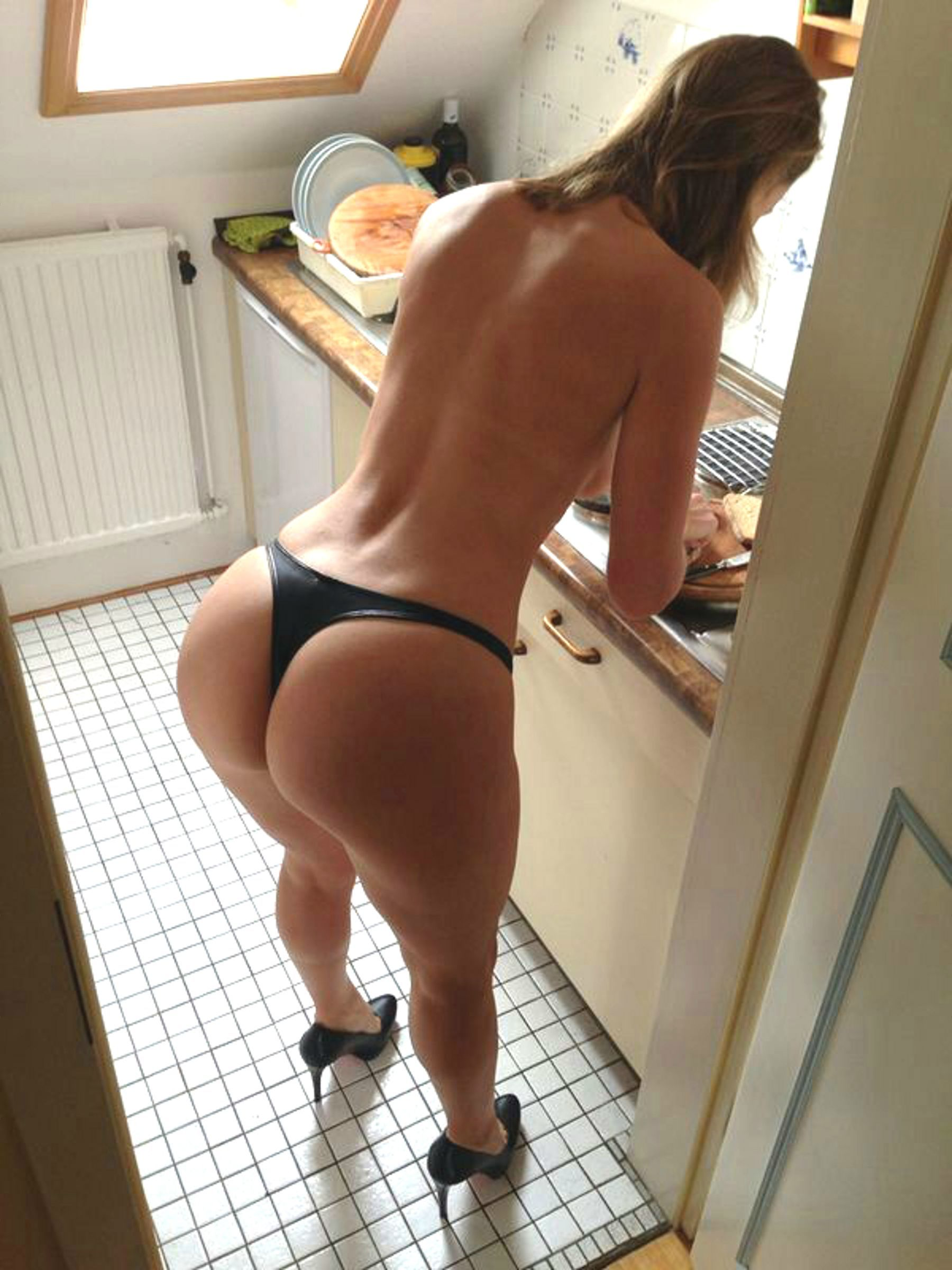 fat booty making breakfast - #ass, #booty, #breakfast, #classy