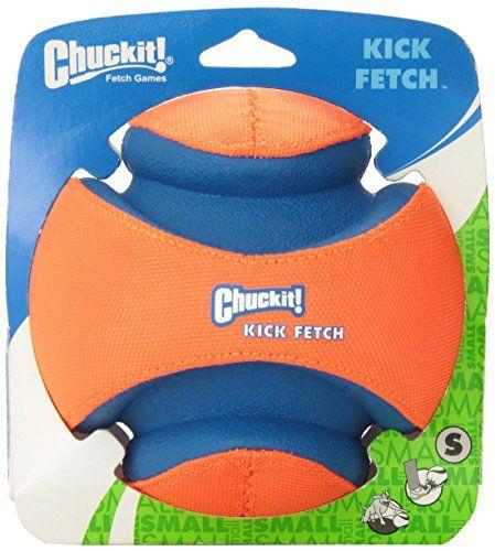 chuckit kick fetch jouet pour chien 14 cm taille s