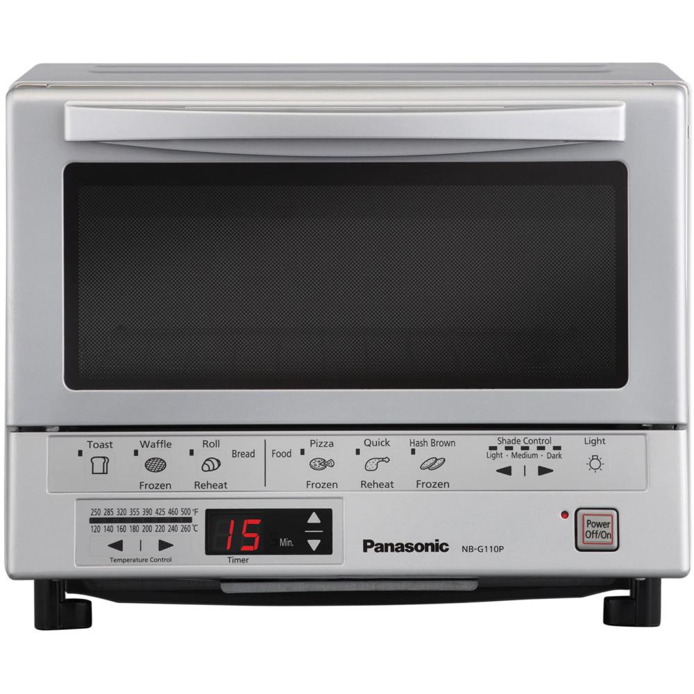 Free Shipping Buy Panasonic Flashxpress Silver Toaster Oven At