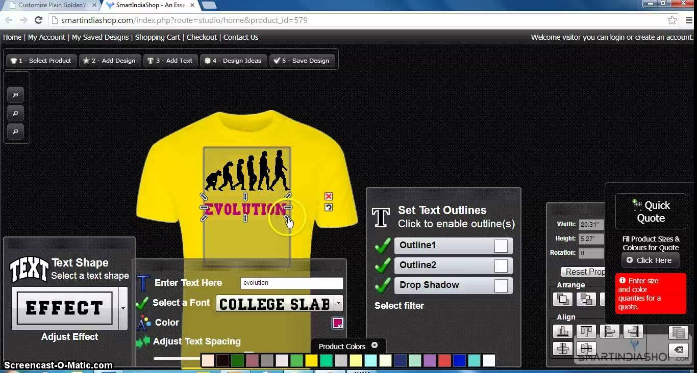 T Shirt Design Online Software Free Rldm