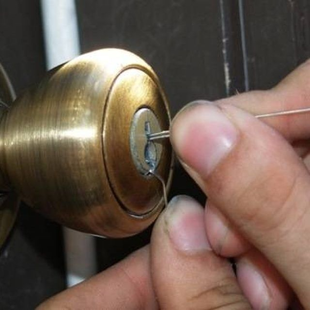 How To Open A Locked Door Using A Paperclip Hunker Bathroom Door Locks Doors House Doors
