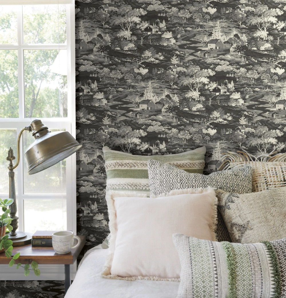 Homestead Wallpaper (With images) Magnolia homes
