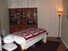 Loomis Hall Massage Therapy treatment room