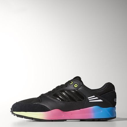 @adidas #TECH #SUPER #RITA #W #Leather (Black + Pop)