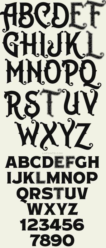 4d78a07f6adf41 Letterhead Fonts   LHF Robusto   Cigar Box Fonts