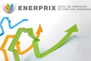 Enerprix - Evolution prix des énergies