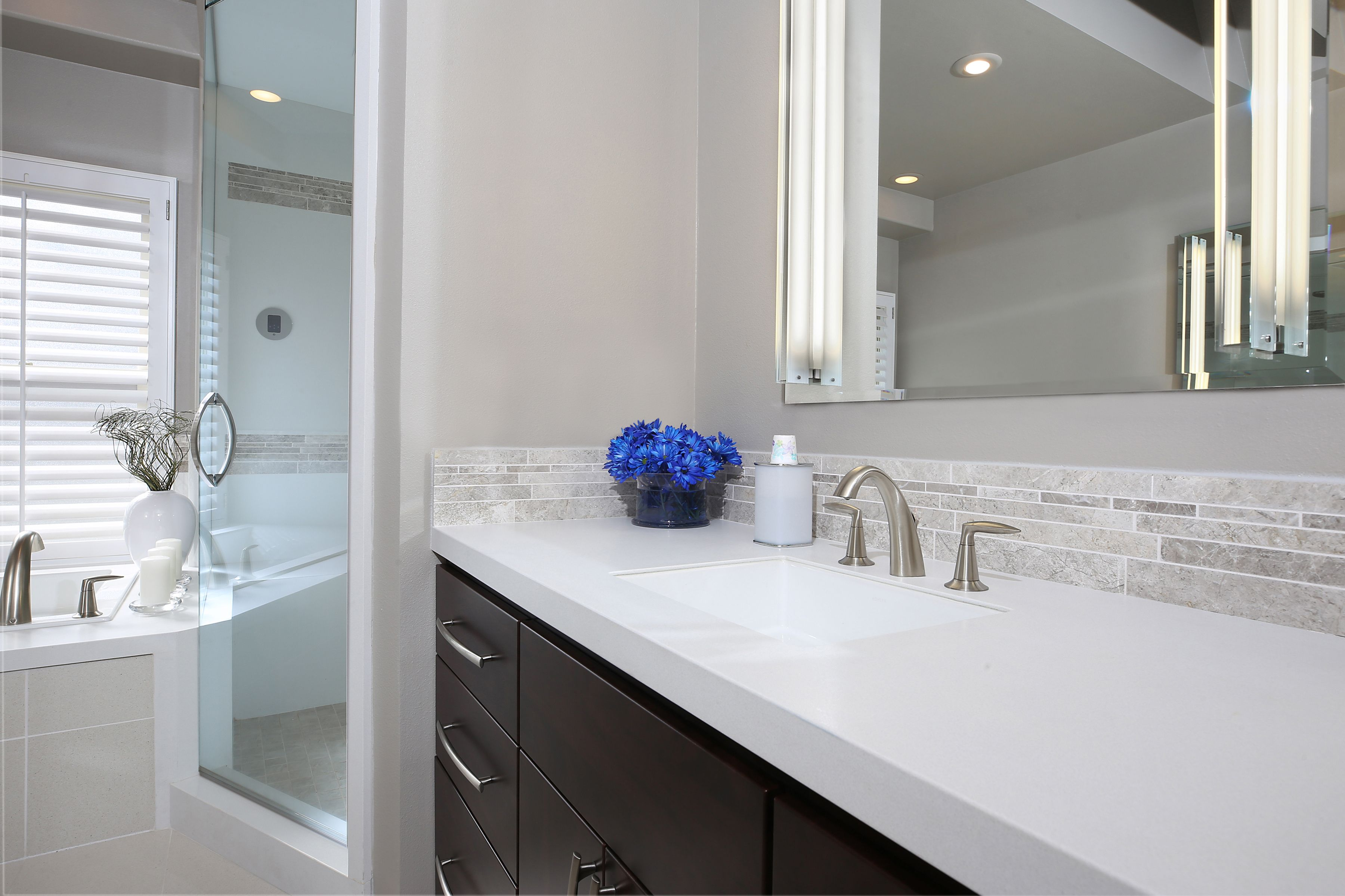 Quartz Bathroom Shower Remodel Shower Remodel Diy Bathrooms Remodel