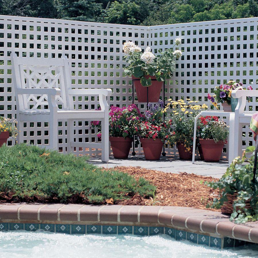 Access Denied Square Lattice Backyard Fences Fence Planning