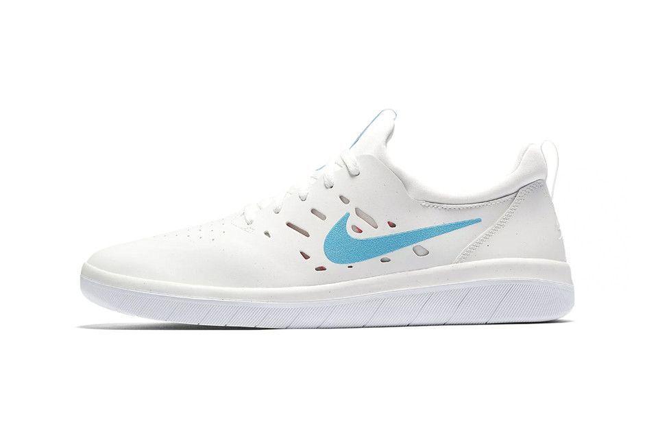Nyjah Huston's Nike SB Nyjah Free Receives a Clean Blue