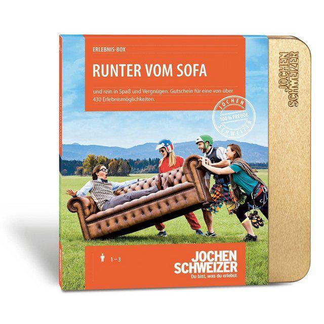 Gutschein Runter Vom Sofa In Edler Geschenkbox Gutscheine