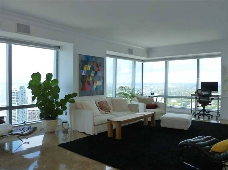 1425 Brickell Ave Unit 53b Miami Fl 33131 Modern Living Room Apartments For Sale Brickell