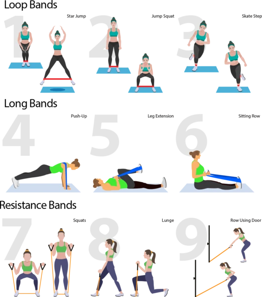 34+ Stretch bands with handles ideas